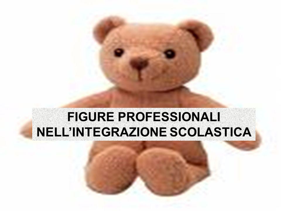 FIGURE PROFESSIONALI NELL'INTEGRAZIONE SCOLASTICA