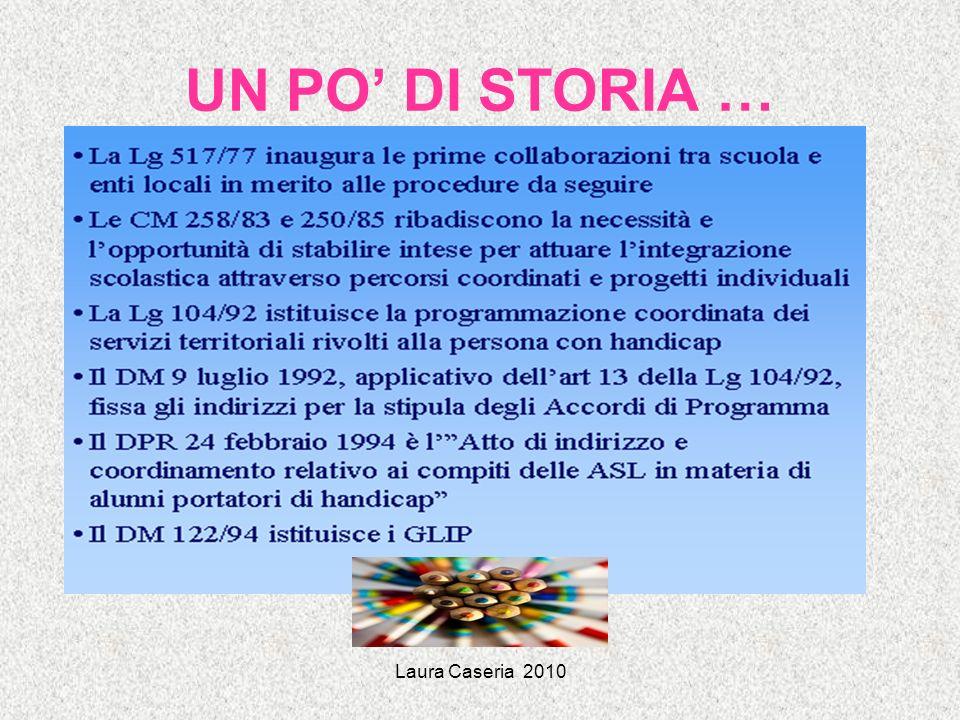 UN PO' DI STORIA … Laura Caseria 2010
