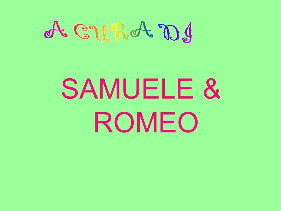 A CURA DI SAMUELE & ROMEO