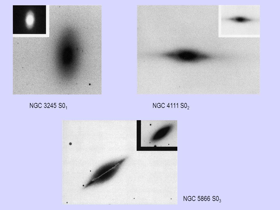 NGC 3245 S01 NGC 4111 S02 NGC 5866 S03