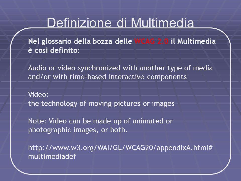 Definizione di Multimedia
