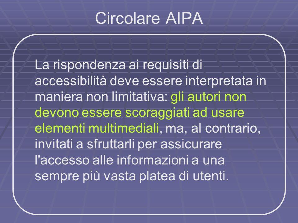 Circolare AIPA