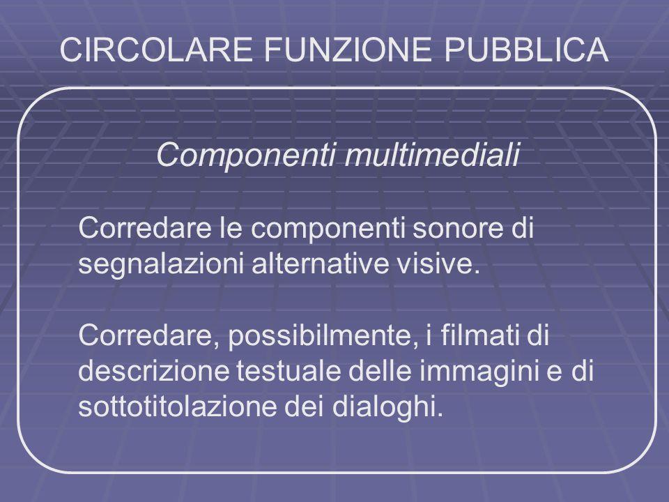 CIRCOLARE FUNZIONE PUBBLICA
