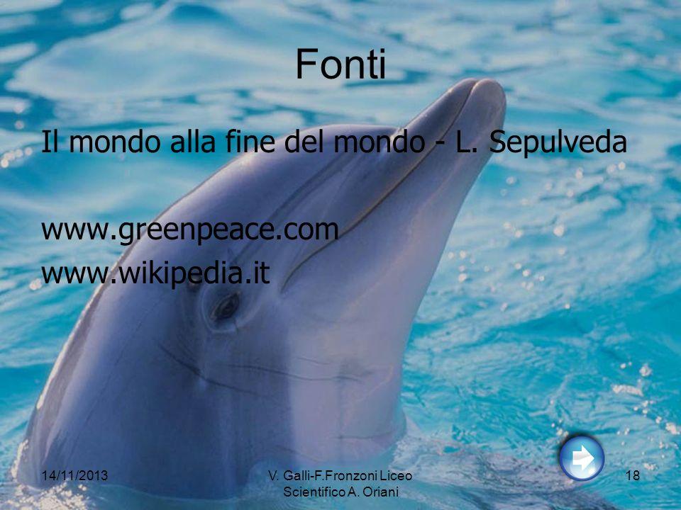 V. Galli-F.Fronzoni Liceo Scientifico A. Oriani