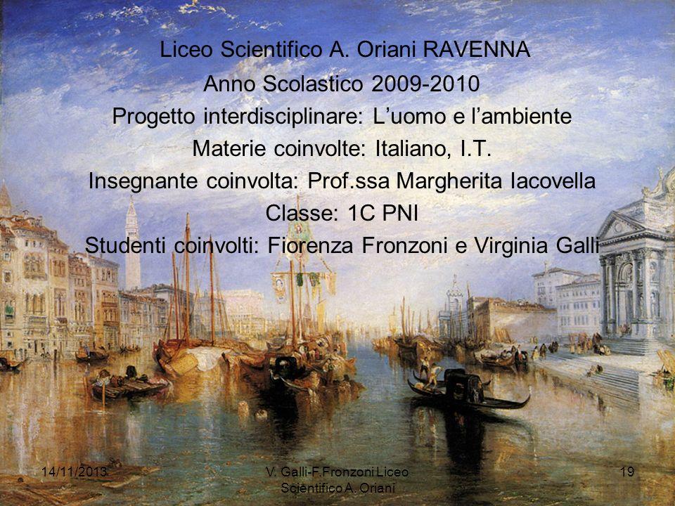 Liceo Scientifico A. Oriani RAVENNA