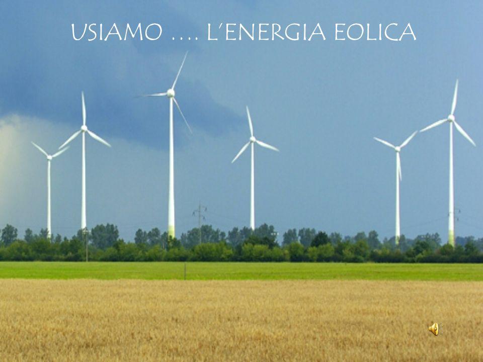 USIAMO …. L'ENERGIA EOLICA