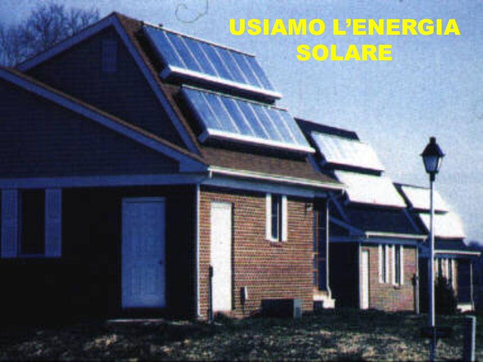 USIAMO L'ENERGIA SOLARE