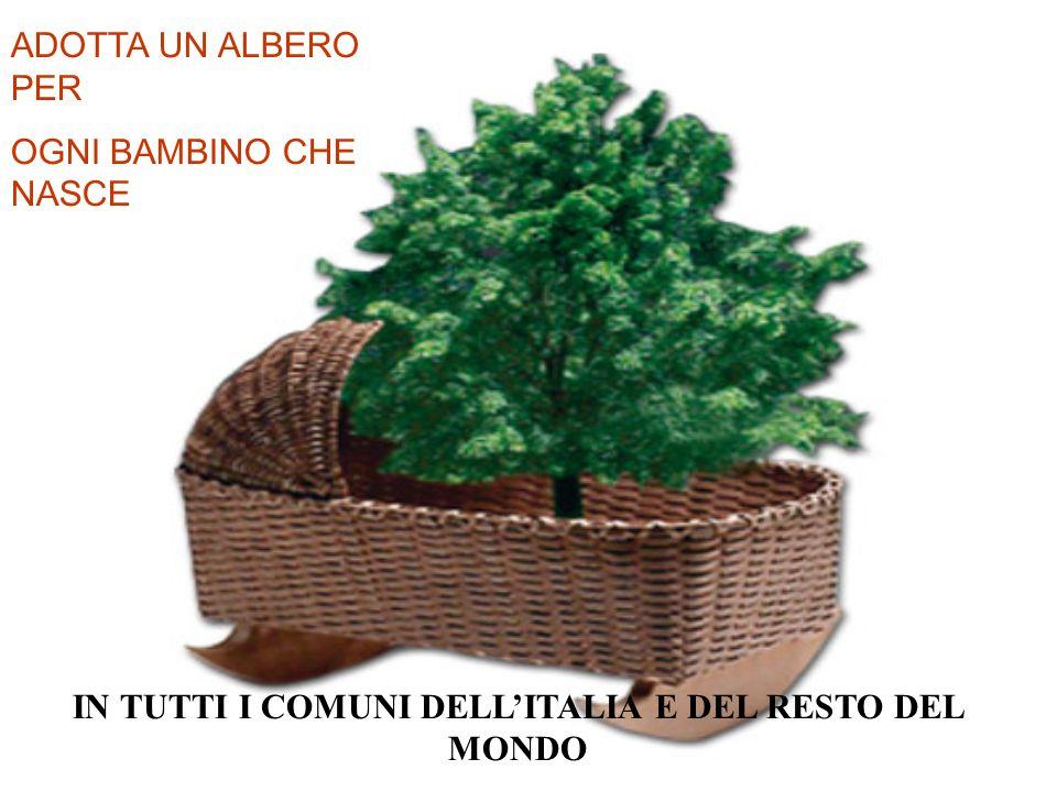 IN TUTTI I COMUNI DELL'ITALIA E DEL RESTO DEL MONDO