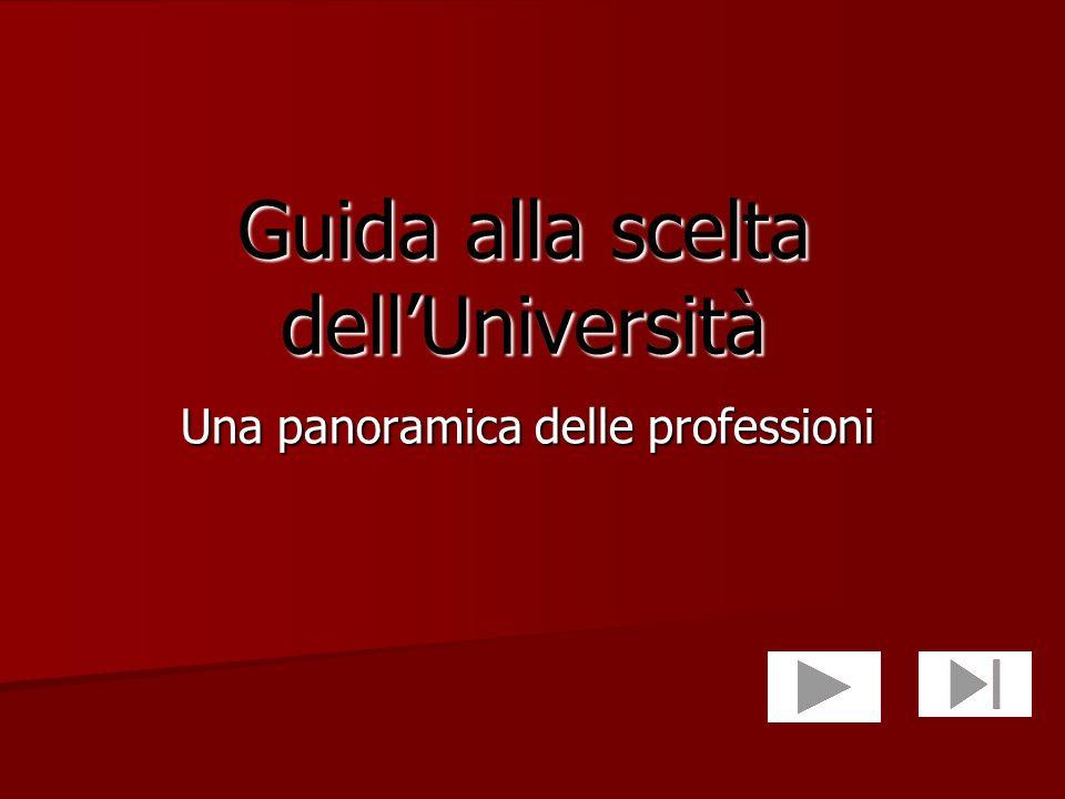 Guida alla scelta dell'Università
