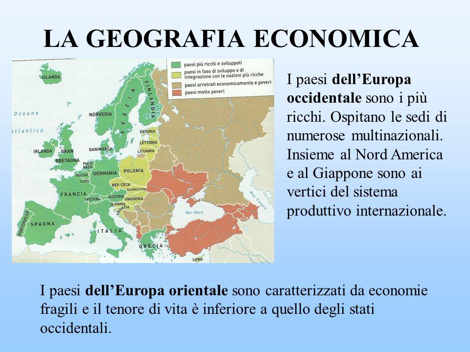 LA GEOGRAFIA ECONOMICA