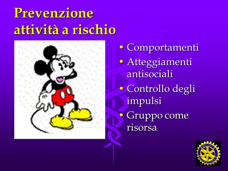 Prevenzione attività a rischio