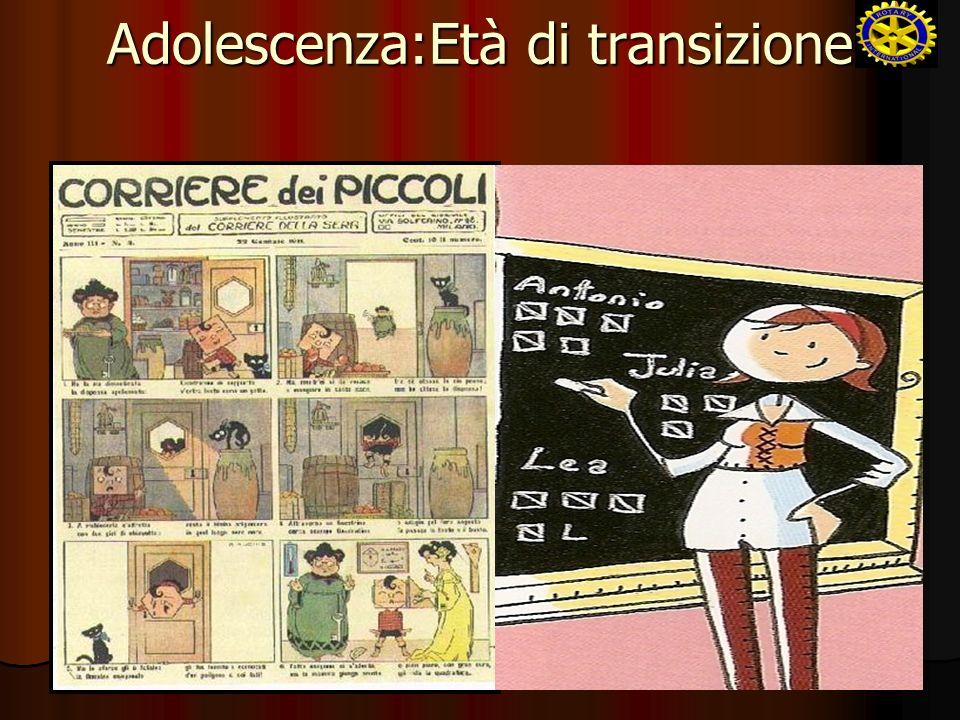 Adolescenza:Età di transizione