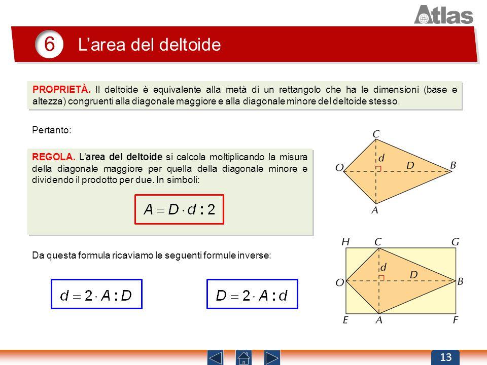 6L'area del deltoide.