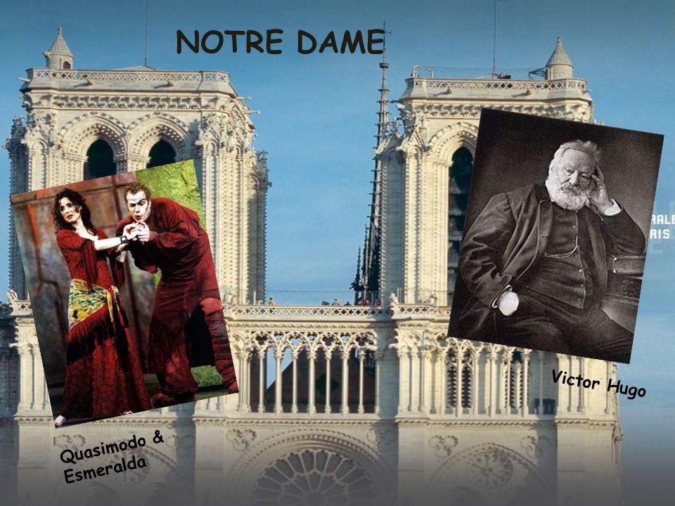 NOTRE DAME Victor Hugo Quasimodo & Esmeralda