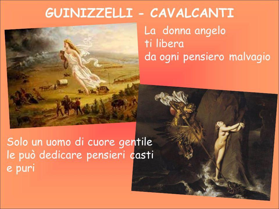 GUINIZZELLI - CAVALCANTI