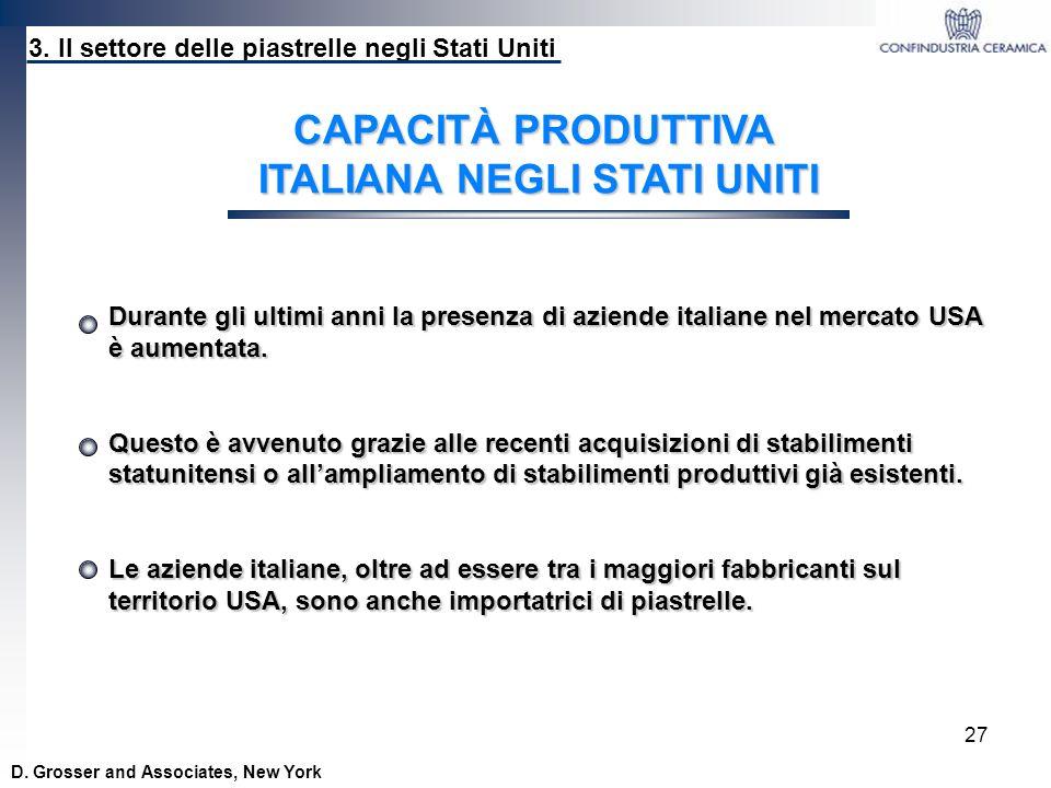 ITALIANA NEGLI STATI UNITI