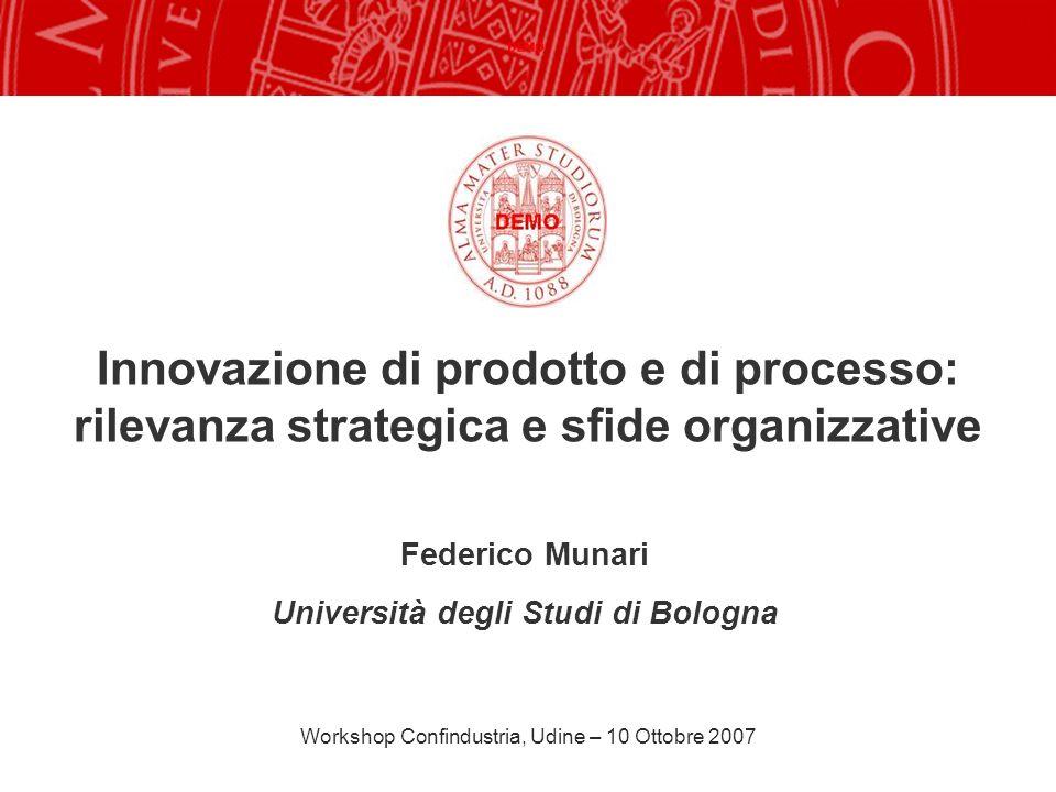 Federico Munari Università degli Studi di Bologna