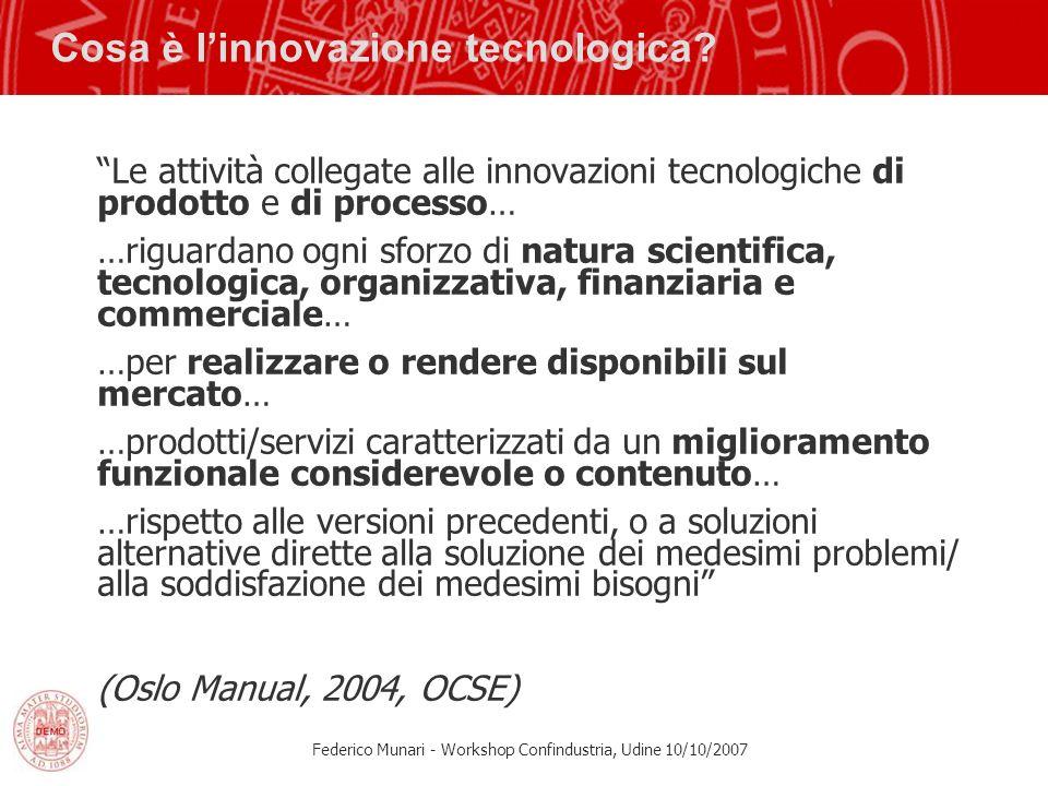 Cosa è l'innovazione tecnologica