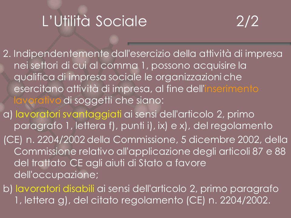 L'Utilità Sociale 2/2