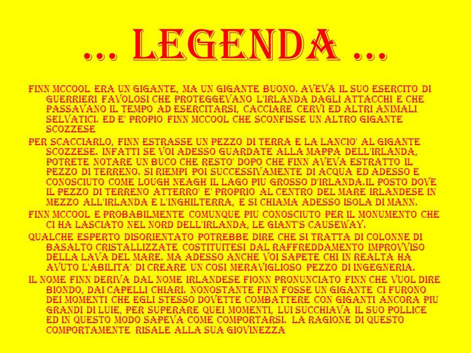 … Legenda …