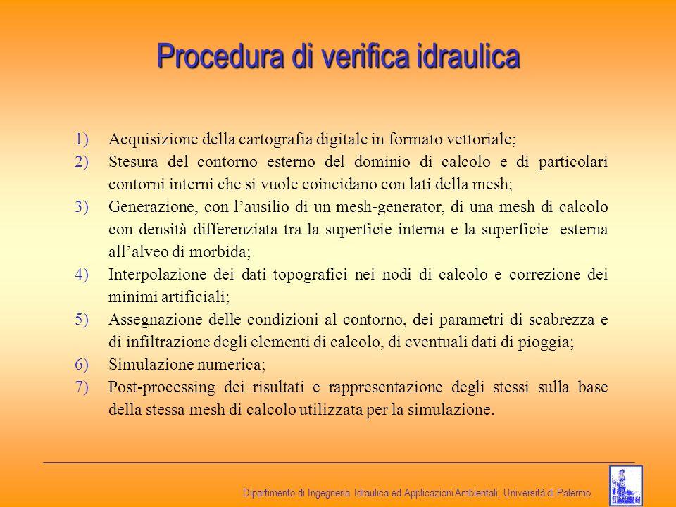 Procedura di verifica idraulica