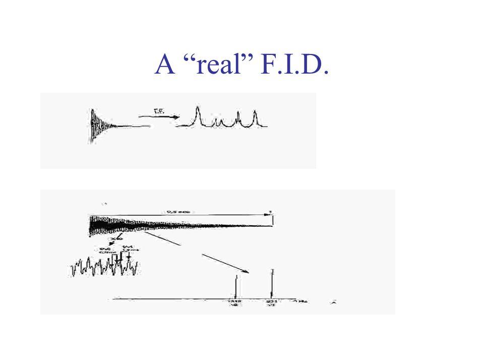 A real F.I.D.