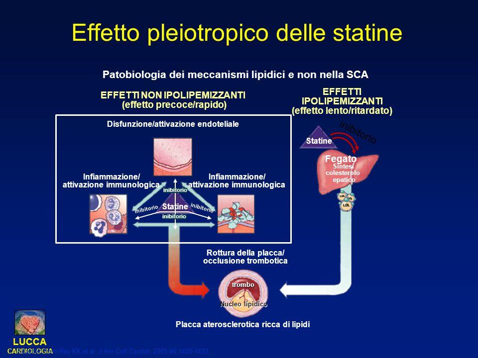 Effetto pleiotropico delle statine