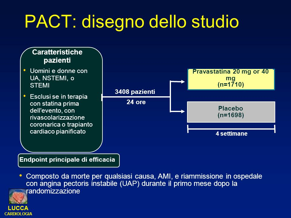 PACT: disegno dello studio