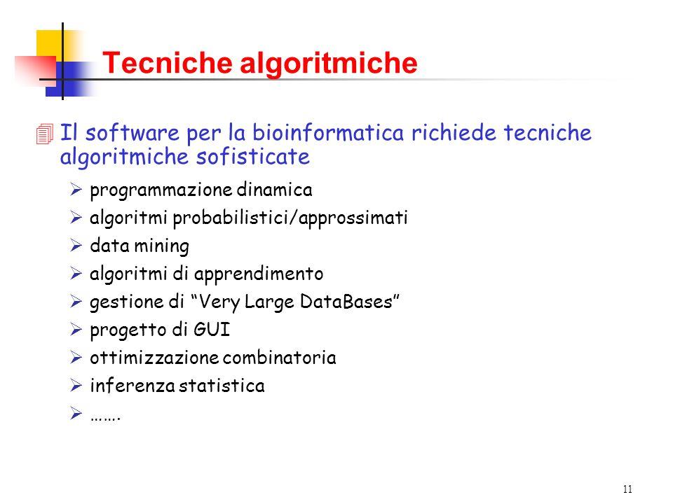 Tecniche algoritmiche