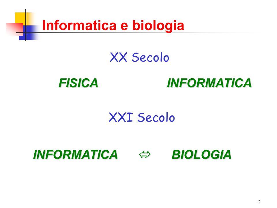 Informatica e biologia