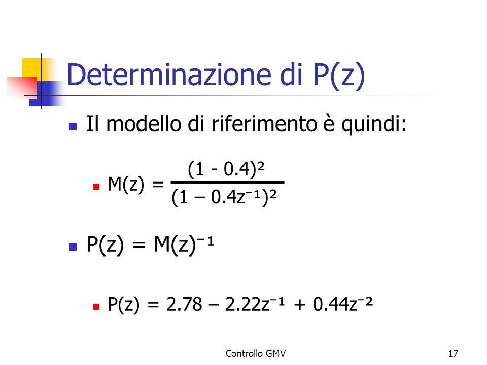 Determinazione di P(z)