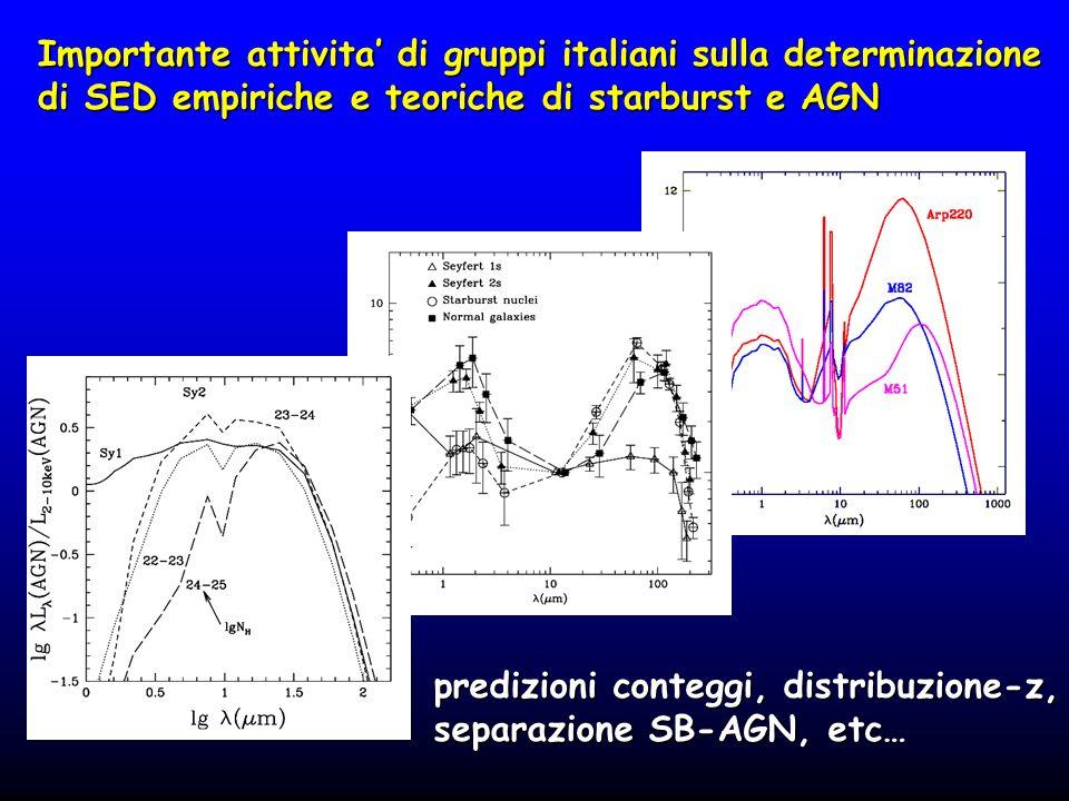 Importante attivita' di gruppi italiani sulla determinazione