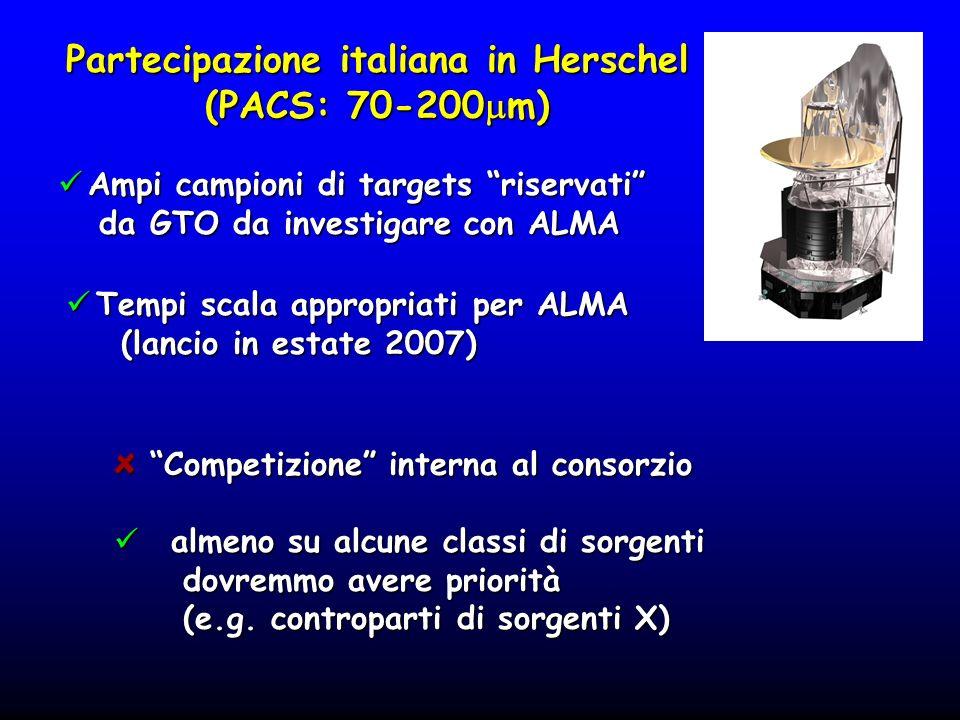 Partecipazione italiana in Herschel