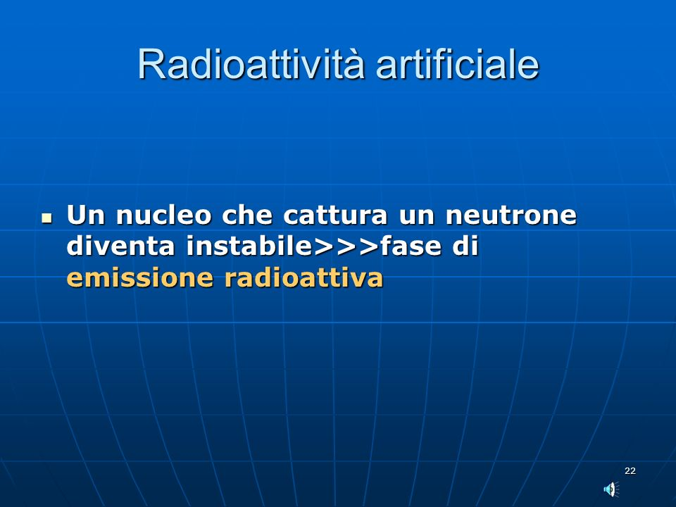 Radioattività artificiale