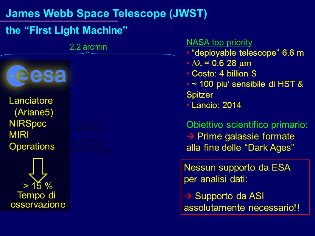 James Webb Space Telescope (JWST)