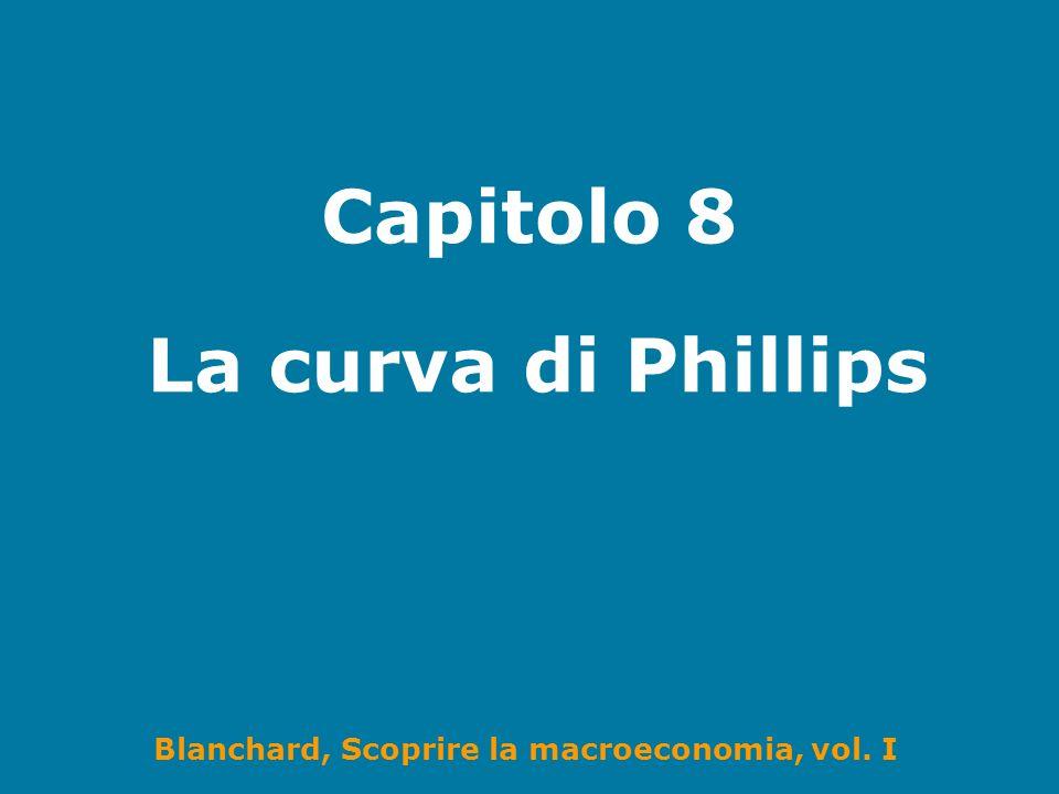 Capitolo 8 La curva di Phillips