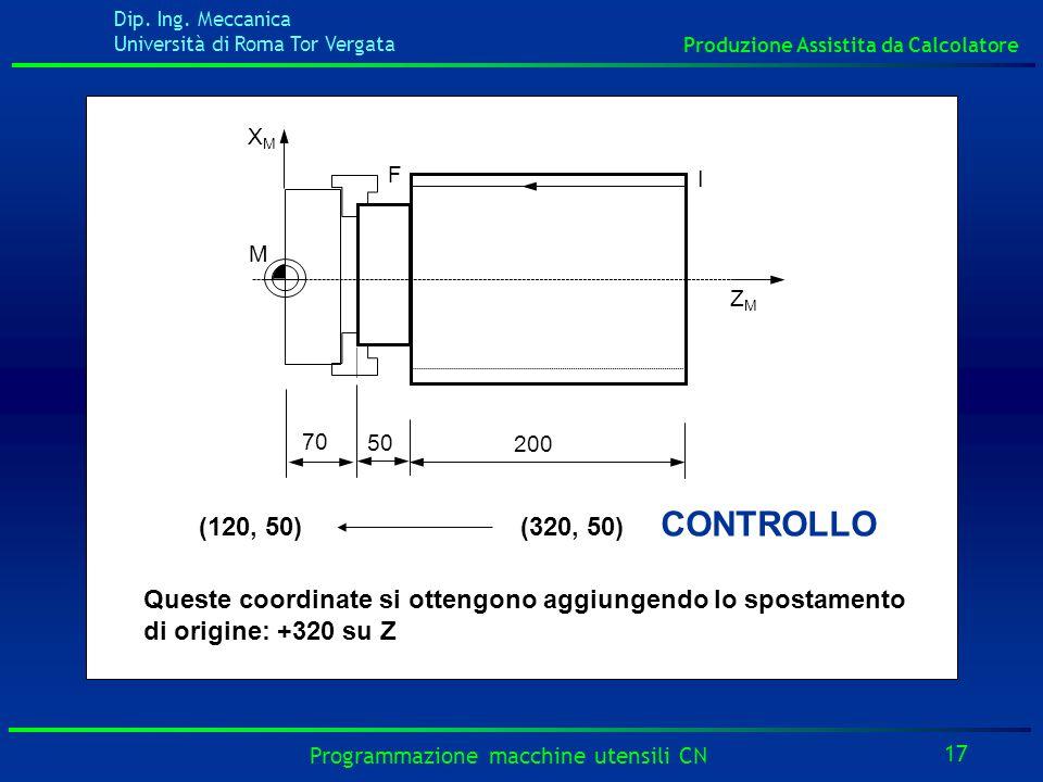 IF. XM. ZM. M. 50. 200. 70. (120, 50) (320, 50) CONTROLLO.