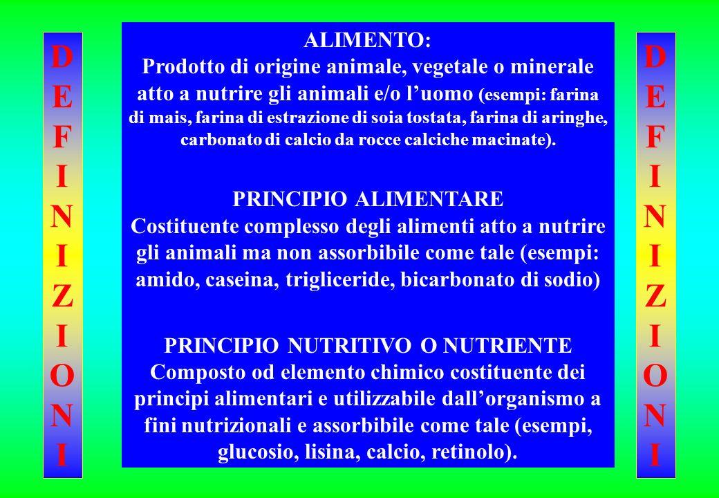 PRINCIPIO NUTRITIVO O NUTRIENTE