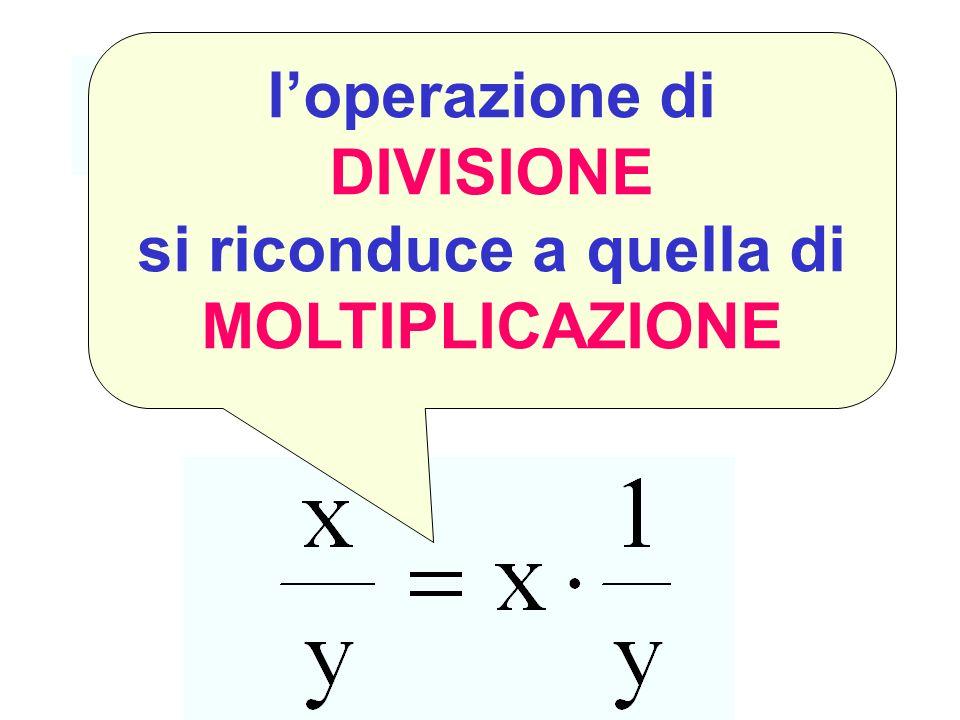Divisione come moltiplicazione