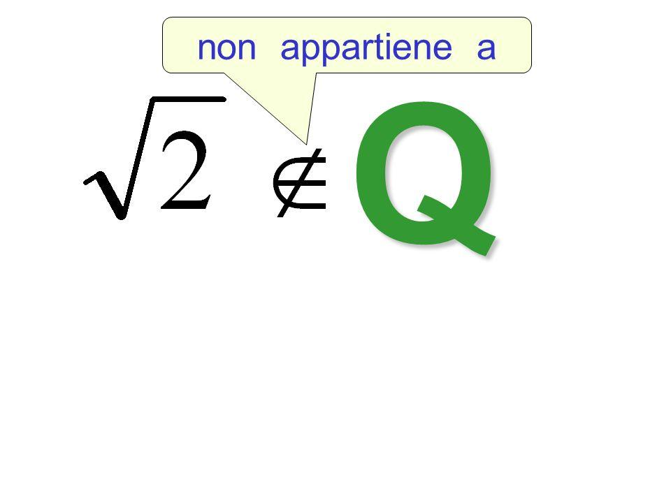 non appartiene a Q