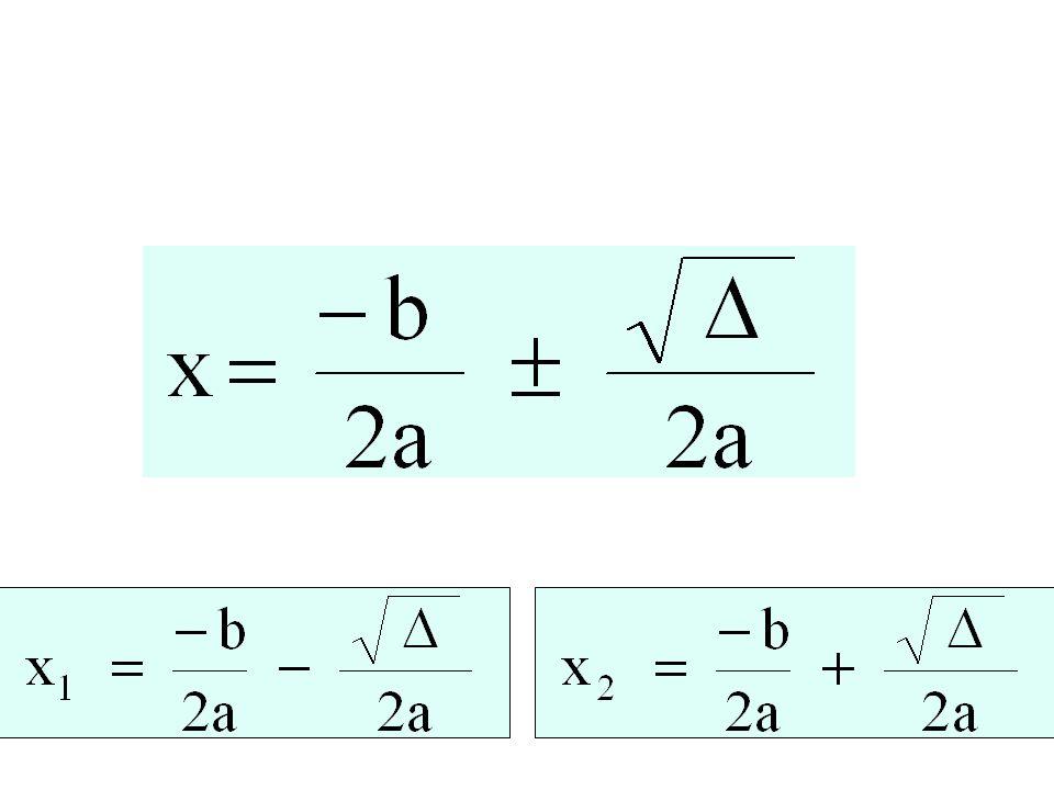Radici dell'equazione