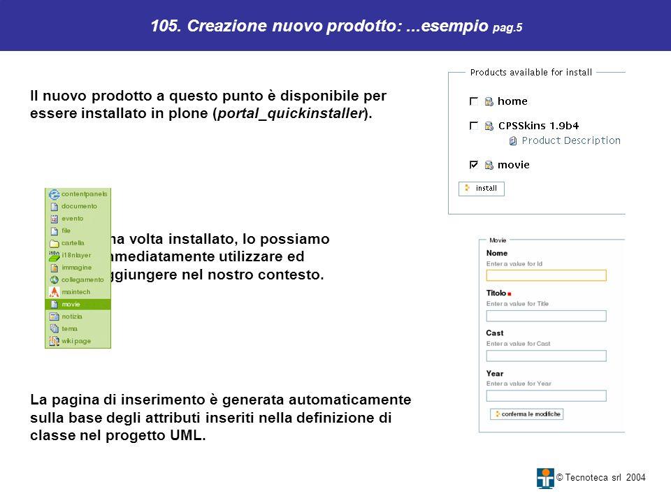 105. Creazione nuovo prodotto: ...esempio pag.5