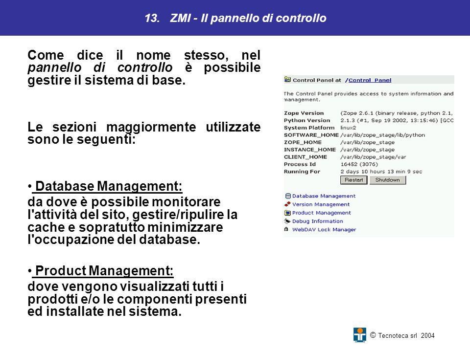 13. ZMI - Il pannello di controllo