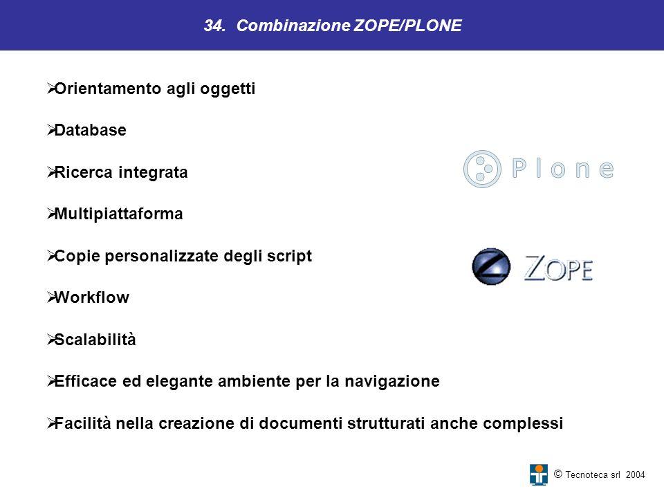 34. Combinazione ZOPE/PLONE