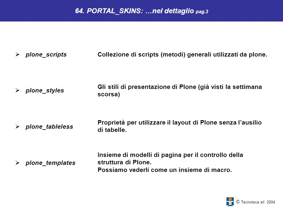 64. PORTAL_SKINS: …nel dettaglio pag.3