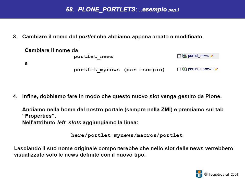 68. PLONE_PORTLETS: ..esempio pag.3