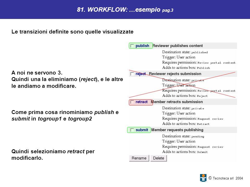 81. WORKFLOW: …esempio pag.3