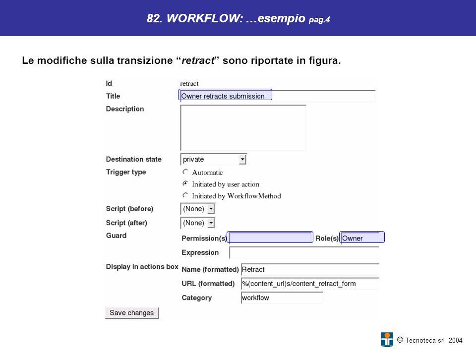82. WORKFLOW: …esempio pag.4