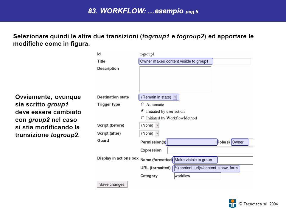 83. WORKFLOW: …esempio pag.5
