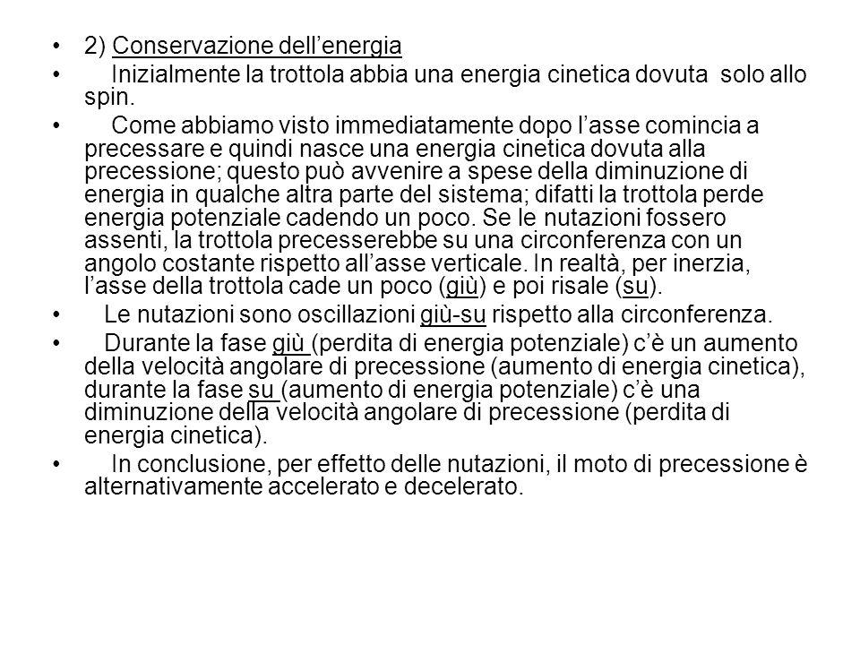 2) Conservazione dell'energia